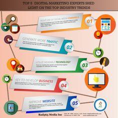 Top 5 Digital Marketing Experts Shedlight