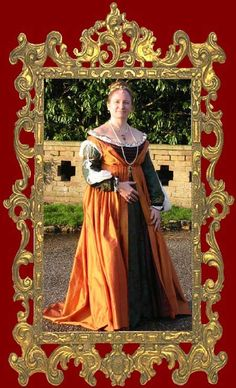 Caroline Barranco    A Venetian Gown in the style of 1495-1505