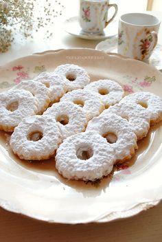 ricetta biscotti canestrelli