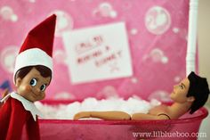 10 more Almost R-rated Elf on the Shelf Ideas