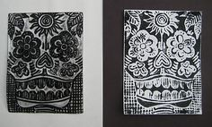 """""""Day of the Dead Prints"""" inspired by Jose Posada"""