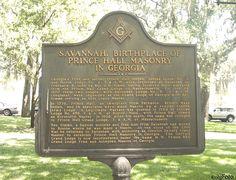 Prince Hall Masonry Historical Marker