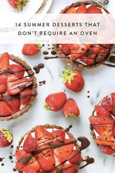 14 Summer Desserts That Don't Require an Oven via @PureWow