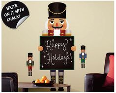 【楽天市場】ウォールステッカー クリスマスはってはがせるから賃貸住宅にもオススメ!書いて消せるホワイトボードステッカールームメイツ ホリデースクロール RMK2469GM:かべがみ道場