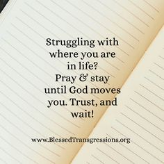 We can rest assure that we can enjoy a calm confidence in God when we come to Him and behold his works in our hearts. Bible Verses Quotes, Words Quotes, Wise Words, Sayings, Faith In Love, Keep The Faith, Something To Remember, Gods Timing, Magic Words