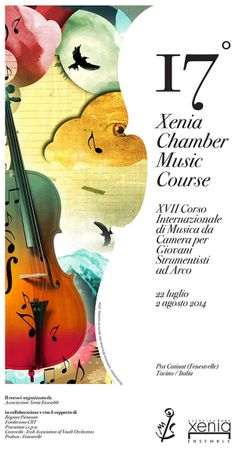 17th International Chamber Music Course/ promo material on Behance