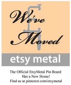 Etsymetal now has an official pinterest account ... yes we are ALL obsessed.  Please join the fun at http://pinterest.com/etsymetal