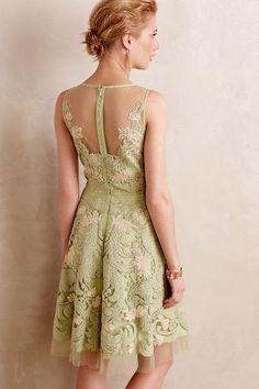 Embroidered Panna Dress - anthropologie.com
