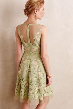 Embroidered Panna Dress #anthrofave
