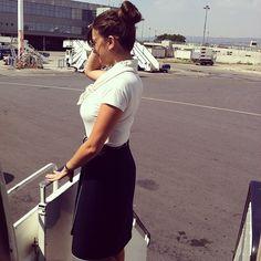 Astra Airlines Stewardess