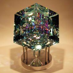 Blue Spectrum Cube by Jack Storms