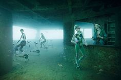 O fotógrafo austríaco Andreas Frankemostra, amostra de fotos The Vandenberg: Life Below the Surface 7