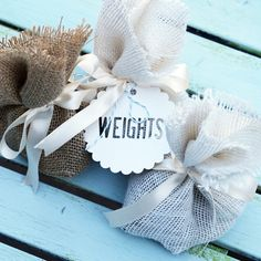 Aisle Runners + Accessories  - Weights for your aisle runner- Love, Burlap: Custom Burlap Aisle Runners