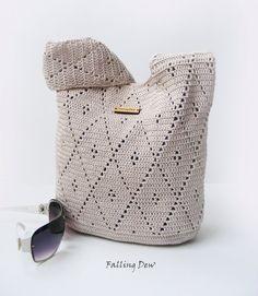 Accessories Handbag / Purse, Summer Bag, Beach Handbag/ Women Handbag, Crochet Bag, Gifts For Her, Holiday Gifts by FallingDew on Etsy