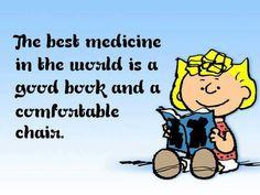 The best medicine. . .