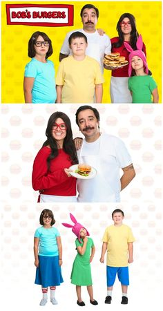 diy bobs burgers costumes - Bob And Tom Halloween Songs
