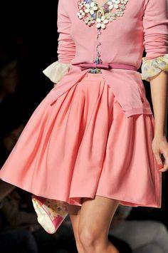 Blugirl at Milan Fashion Week Spring 2012 - StyleBistro