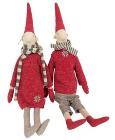 Maileg Medium nisser Marie og Magnus - Butik Paradisets bamser, tøj og brugskunst