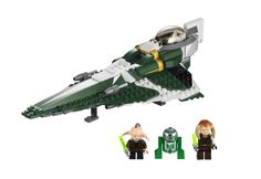 LEGO Star Wars 9498 Saesee Tiin's Jedi Starfighter Price: $26.97  See more at http://www.squidoo.com/trending-toys-for-christmas#module167216256