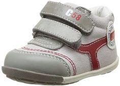 Chicco Gazel 1051463000000 – Zapatos de tela para bebé niño, color gris, talla 19