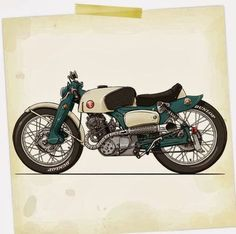 Motor bike reference (without panniers)