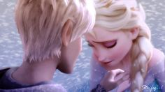 They also happen to have nearly the same hair color. | Why Jack Frost And Elsa Would Make The Cutest Couple