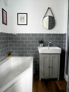 Grey bathrooms - Bathroom Renovation Ideas bathroom remodel cost, bathroom ideas for small bathrooms, small bathroom design ideas Bathroom remodel Renovation houserenovation bathroomrenovationideas Bathroom Designs India, Simple Bathroom, Modern Bathroom Design, Bathroom Interior, Master Bathroom, Bathroom Grey, Bathroom Small, Basement Bathroom, Bathroom Vanities
