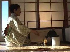 Japanese Tea Ceremony: Tea At Koken - with sound.