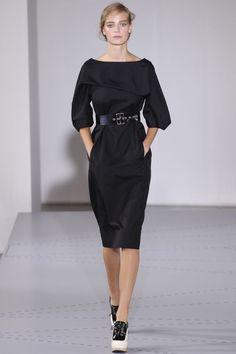 robe minimaliste de Jil Sander