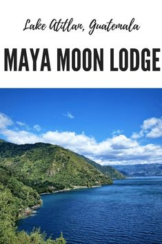 Maya Moon Lodge on Lake Atitlan in Guatemala  #guatemala #hiking #accommodation #travelguatemala #travel #hotel #lodge