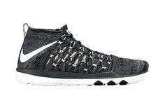 Image result for fly knit with mesh overlay trainer