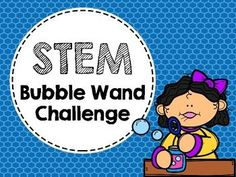 STEM Bubble Challenge is an exciting way to promote critical thinking skills and problem solving. This pack includes two STEM challenges in which students must problem solve to create bubble wands for each challenge. Afterwards, students test out their engineered bubble wands outside and then use the reflection sheet to analyze their product!