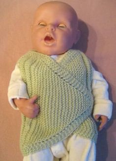 Kemerli bebek yeleği yapımı - anlatımlı kolay bebek yeleği - bebek yelekleri - bebek yeleği modelleri - bebeklere yelek modeli ve yapımı