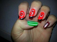 Oklahoma State University football nails