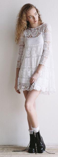 crochet dress платье крючком