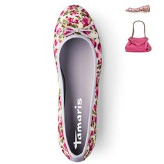 Time to bloom - Tamaris floral pumps!