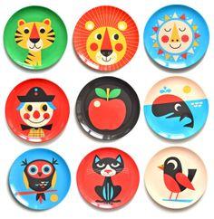 Ingela P Arrhenius Melamine Plates Hot! Ingela P Arrhenius Melamine Plates Eclectic Dinnerware, Outdoor Dinnerware, Melamine Dinnerware, Session 9, Animal Plates, Deco Kids, Kids Plates, Toddler Plates, Plus 4