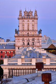 Tower of Minsk . Belarus