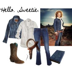 """Hello, Sweetie"" - River Song, created by caitlyn-lutz on Polyvore"