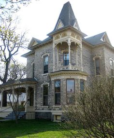 "The Bertsch House, one of Grand Rapids' ""haunted"" houses. Repinned from Sherri Edwards via Debi Homminga."