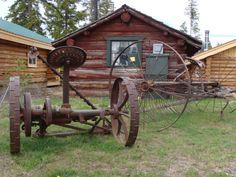 Antique Farm Equipment   Pin it Like Image