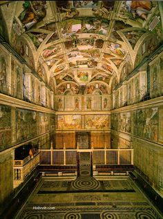 Sistine Chapel - Vatican City