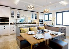 Planning a big kitchen   Real Homes