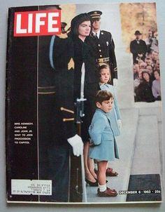 President John F Kennedy Funeral Life Magazine 6 by KGbooks, $20.00
