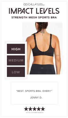 44586e39e7 CALIA by Carrie Underwood Women s Strength Mesh Inset Sports Bra