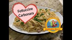 Fettuccine Carbonara - such great flavors with smoky bacon, garlic and garnished with parsley. Easy and delicious! Ingredients: pound of smoked bacon .