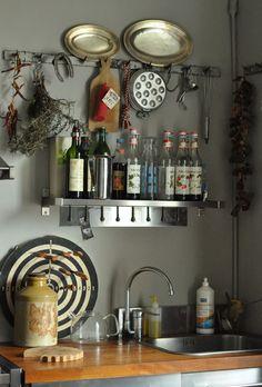 notquitesnowwhite.com - great kitchen inspiration // Photo by Babette Fischer