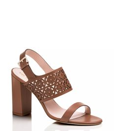 Kate Spade chunky heel sandal: