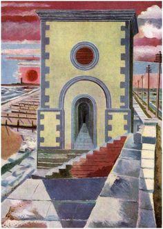Fan account of Paul Nash, a British surrealist painter and war artist. Bob Dylan, Dada Artists, Church Of Our Lady, Spanish Painters, Art Database, Art Uk, Surrealism, Art Prints, Landscape