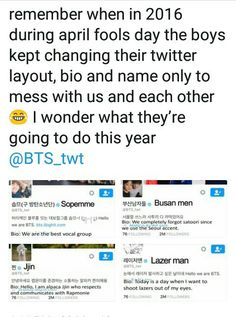 I am sure what BANGTAN will do this year, but I know what we ARMY gonna do